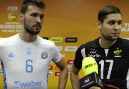 Bracia Penchev | Niko i Rozalin po meczu PGE Skra - Personal Bolivar