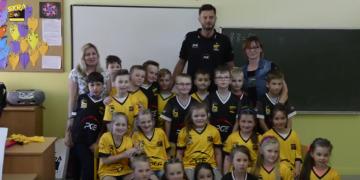 Michał Winiarski podziękował Dziecięcej Eskorcie za sezon 2016/2017