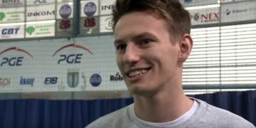 Kacper Piechocki: Cieszę się, że możemy promować siatkówkę wśród dzieci