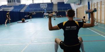 Pierwszy trening PGE Skry