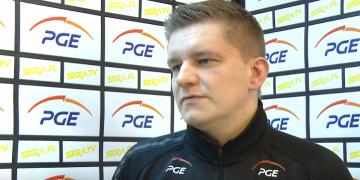 Robert Kaźmierczak przed meczem z BBTS-em Bielsko-Biała