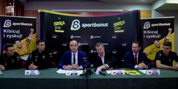 Konferencja prasowa inaugurująca przystąpienie PGE Skry do programu Sportbonus