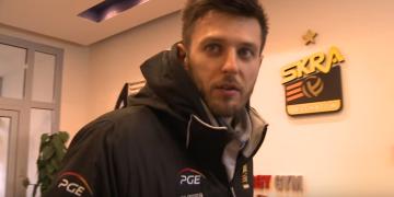 Siatkarze PGE Skry przed wyjazdem do Bydgoszczy