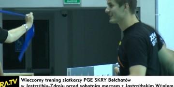 PGE Skra trenowała w Jastrzębiu