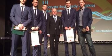 Złoci medaliści honorowymi obywatelami Bełchatowa