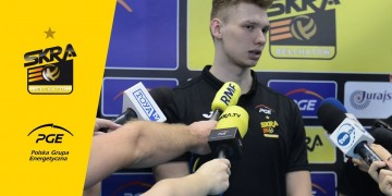 Konferencja prasowa mistrzów świata z PGE Skry Bełchatów
