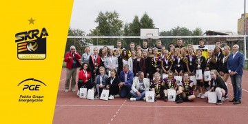 Finał Orlikowej Ligi Mistrzów 2018 z udziałem siatkarzy PGE Skry