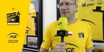 Wywiad z trenerem PGE Skry Robertem Piazzą przed pierwszym meczem sezonu 2018/2019