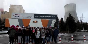 Uczestnicy Ferii z PGE Skrą poznali moc Elektrowni Bełchatów