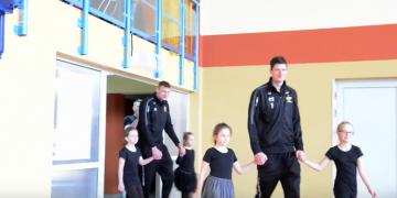 Śpiewające odwiedziny | Srećko Lisinac i Jurij Gladyr w ZSG w Przedborzu