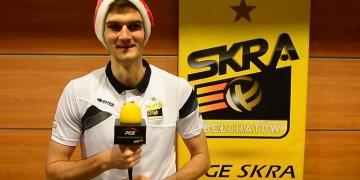 Siatkarze PGE Skry odpowiadają na świąteczne pytania
