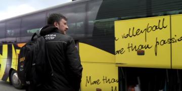 Siatkarze PGE Skry wyjechali do Wrocławia