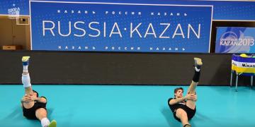 Trening w Saint Petersburg Kazan