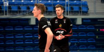 Trening PGE Skry i GKS-u Katowice