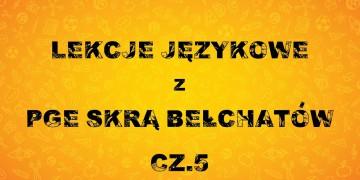 Lekcje językowe z PGE Skrą Bełchatów (cz. V)