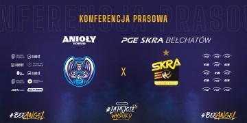#BeeAngel - Konferencja prasowa PGE Skry i Aniołów Toruń