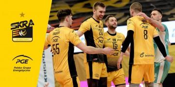 PGE Skra ograła MKS Będzin i rundę zasadniczą kończy na czwartym miejscu!