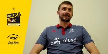 Mateusz Bieniek specjalnie dla SKRA TV ze zgrupowania w Spale