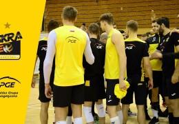 Ostatnie przygotowania PGE Skry do meczu z Treflem Gdańsk w Lidze Mistrzów