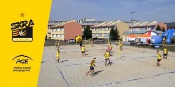 PGE Skra Plaża Open. Bełchatowianie lepsi od mistrza Polski